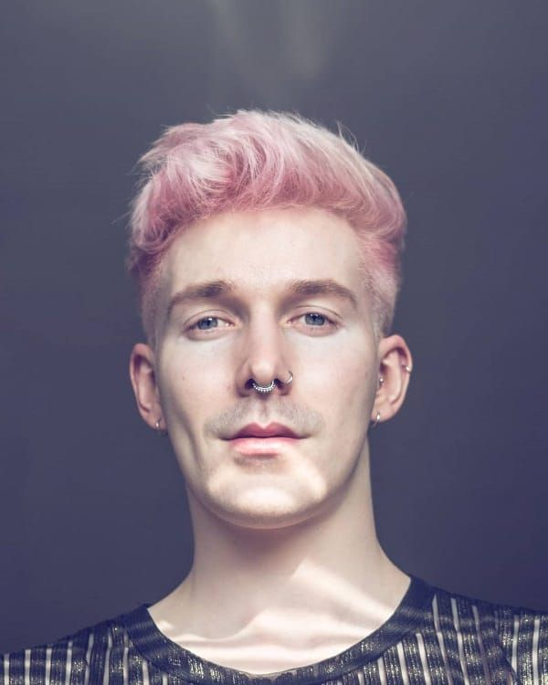 Pin By Tenzin Takring On Hair Color For Ten In 2020 Hair Color Pink Men Hair Color Mens Hair Colour