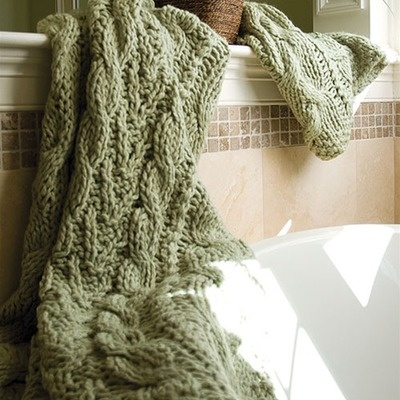 BedfordCottage Hampton Hand Knitted Throw