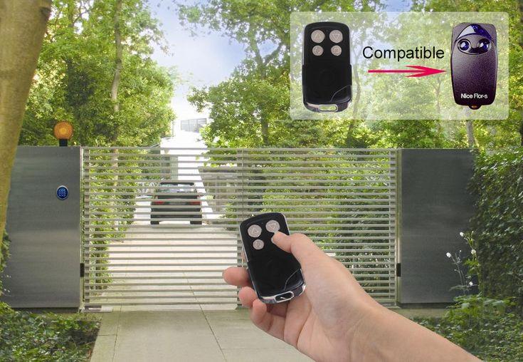 Compatible With 12 Brands European Rolling Code Long Range Garage Door Remote Controls For Automatic Door Jj-rc-sm01 - Buy Nice / Dea / Doorhan / Bft / Faac / Beninca/ Gbd/ Apramic,Long Range Garage Door Remote Controls,Automatic Door Remote Product on Alibaba.com