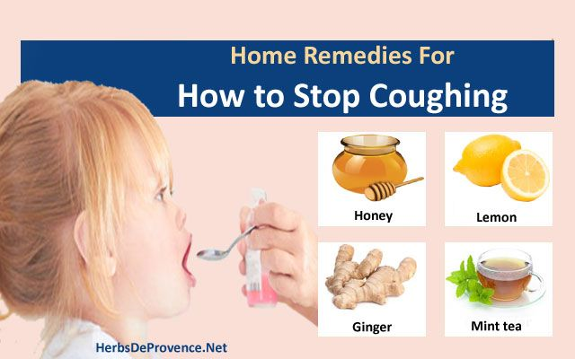 How To Stop Coughing When Sick Home Remedies
