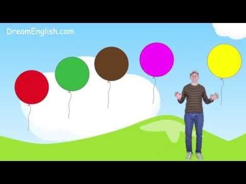 ▶ Color Song for Kids: Learn 9 Colors - YouTube