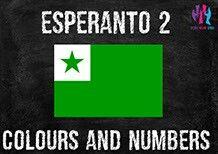 Esperanto... Learn the colours and numbers! http://wordwideweb.eu/e-books-esperanto.html