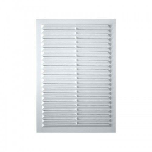 Решетка вентиляционная вытяжная 1724С, АБС 170х240, белая