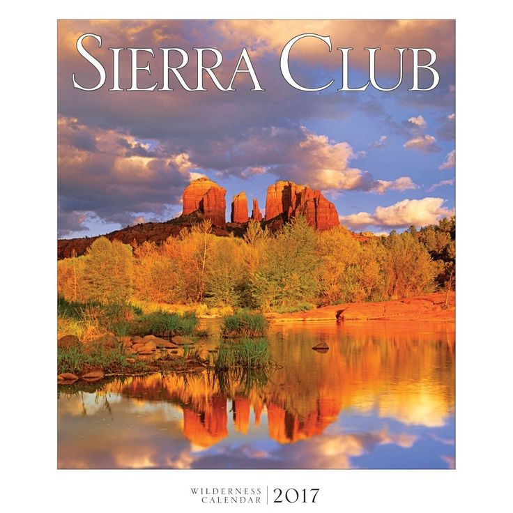 The latest edition of Sierra Club Wilderness Calendar once again sets the standard with its breathtaking images of wild places across the country beautifully reproduced in stunning large format.