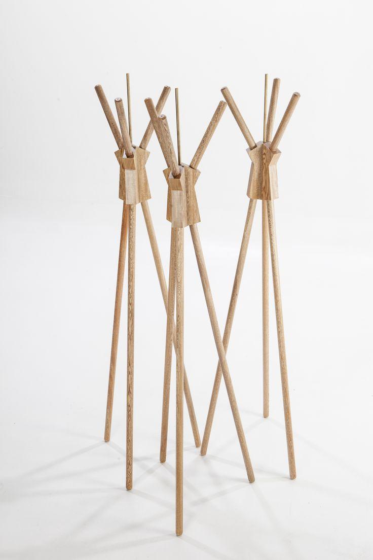 Designed By Camilo Cálad For Macrocéfalo Diseño. #rack #perchero #