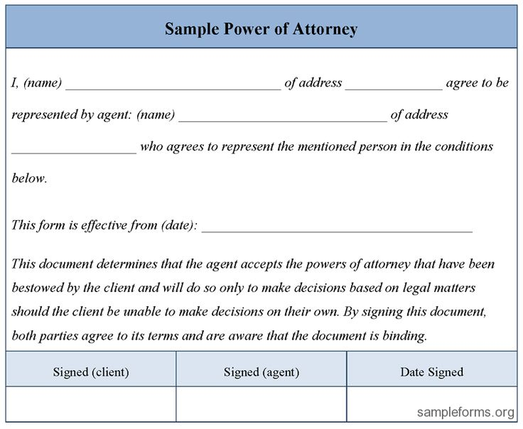 17 Best ideas about Power Of Attorney Form on Pinterest | Power of ...
