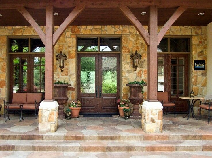 Best Back Porch Designs Ideas On Pinterest Covered Back