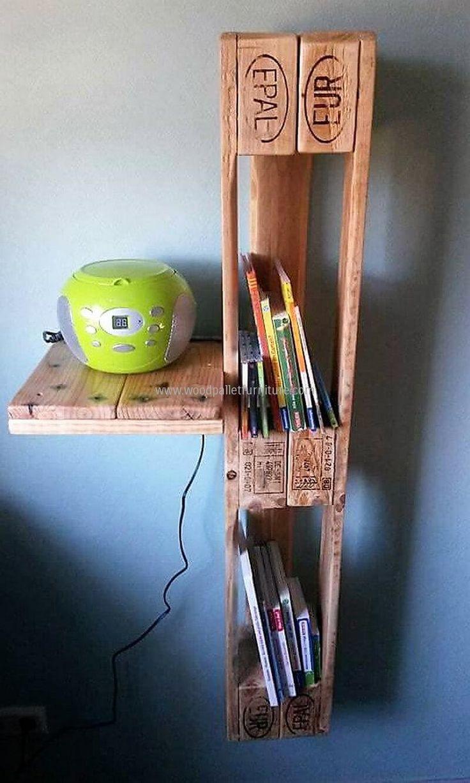 pallets simple cd rack