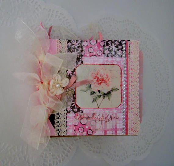 Mini Album Journal Encouragement Gift Christian Gift for