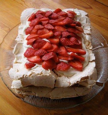Heavenly Norwegian Cake.