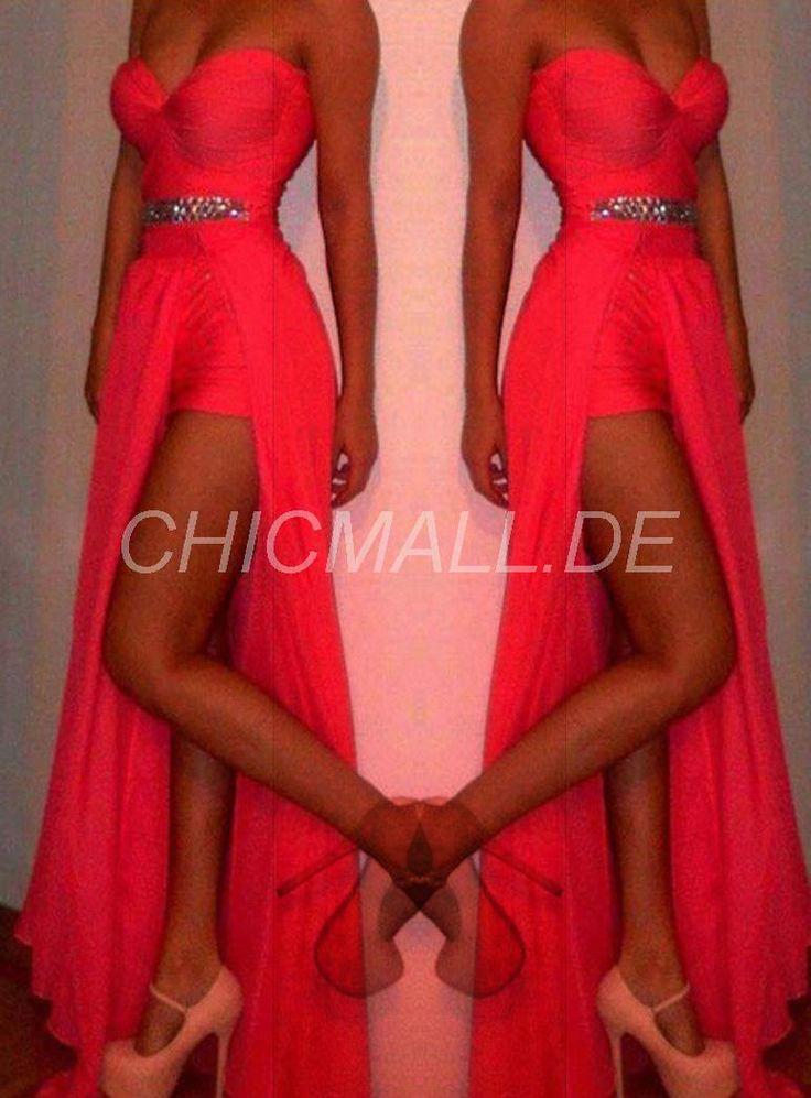 chicmall.de lieferungenneuer liebling knielangen friesen abendkleid Lange Abendkleider