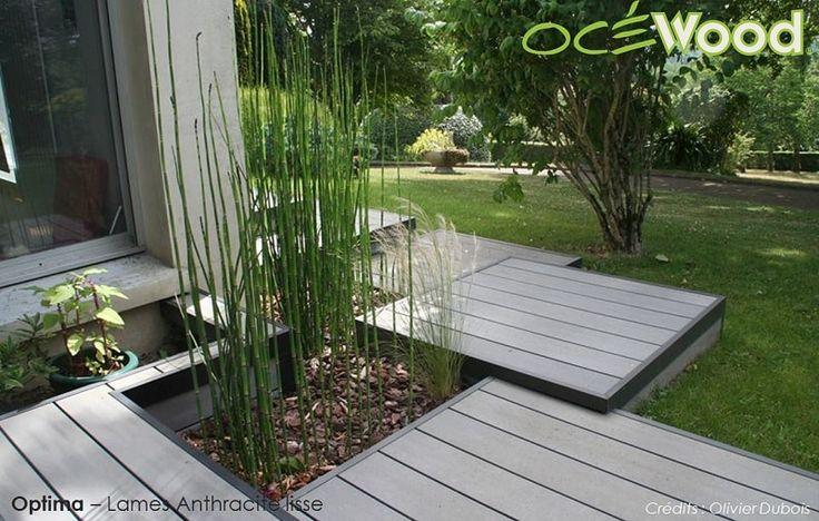 Terrasse Bois Composite, Lame De Terrasse Composite e Lame De Terrasse