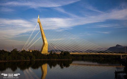 Ponte Estaiada da UFRJ / UFRJ bridge - Rio de Janeiro