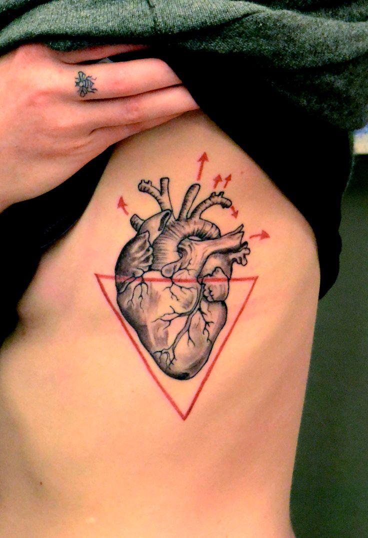 Tool box tattoo by mark old school tattoos by mark pinterest - Anatomical Heart Tattoo