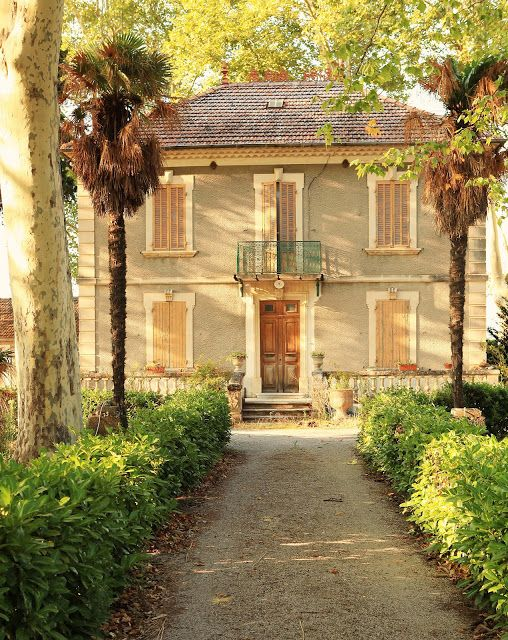 South Of France Beautiful French Country Home Stucco Shutter