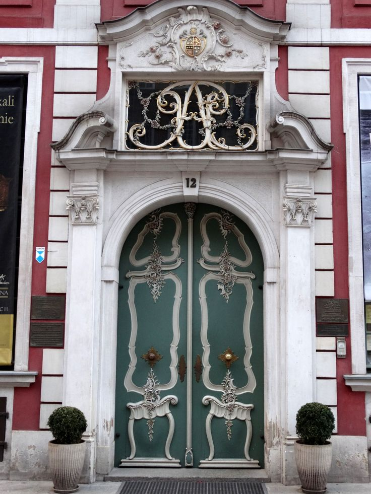 entrance with class, Gdańsk, Poland