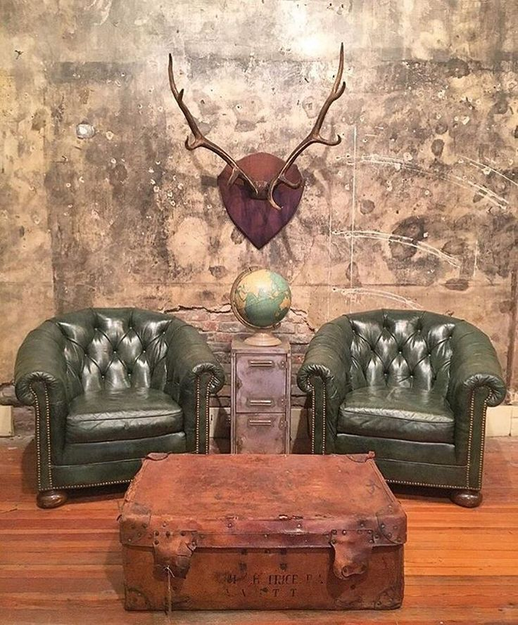 "865 Likes, 10 Comments - Toll Gate Revival (@tollgaterevival) on Instagram: ""#TBT to this epic pair of vintage #chesterfield club chairs we found awhile back. They didn't last…"""