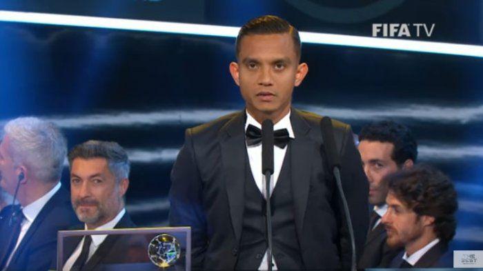 Raih Puskas Award, Faiz Jadi Pebola Asia Pertama yang Naik di Panggung Penghargaan FIFA