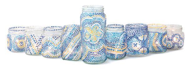 DIY Hanukkah Lights