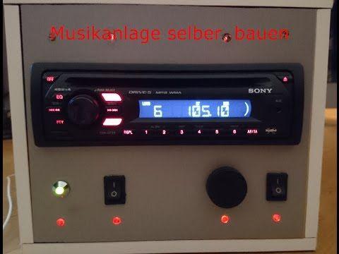 Autoradio für zuhause (anschluss an 12V Adapter) - YouTube