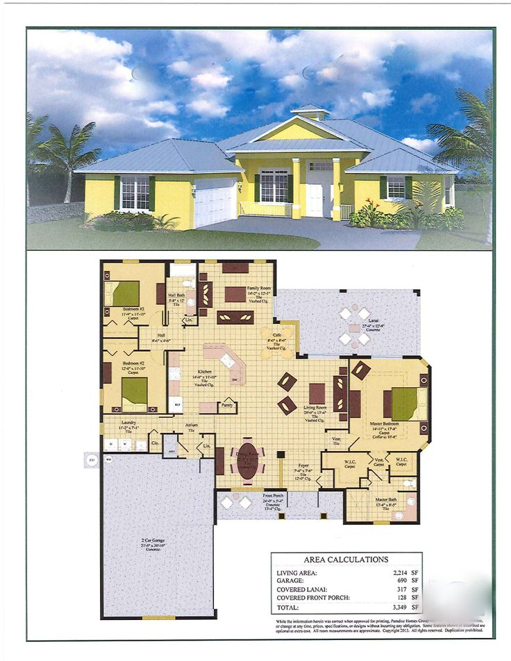 Elevation Key Plan : Best paradise homes luxury custom