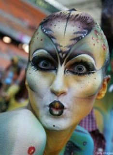fish scale face paint - Google Search | mermaid ...