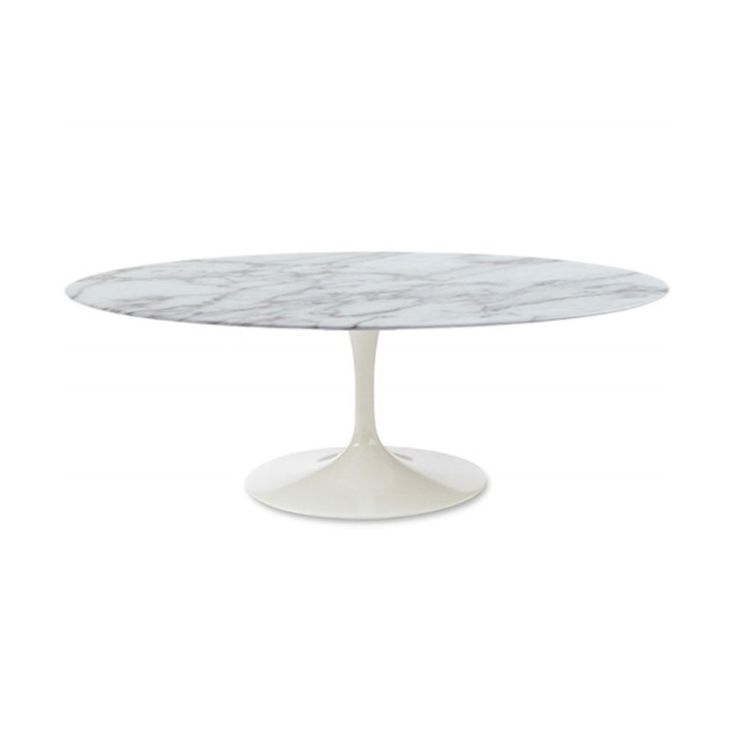 Furniture And Décor For The Modern Lifestyle Tables Cocktails - Oval shaped marble coffee table