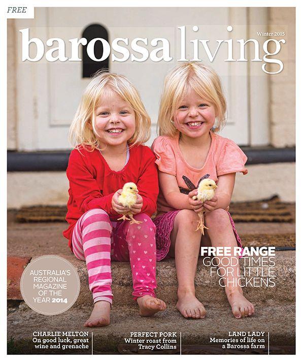 Barossa Living Winter 2015 magazine cover