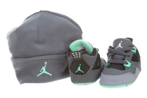 Jordan 4 Retro Crib Shoes (487219 033), 2 : colinshop.com