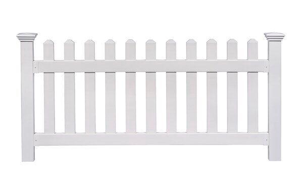 3 Ft H X 6 Ft W Newport Yard Fence Panel In 2020 Garden Fence Panels Fence Panels Vinyl Railing