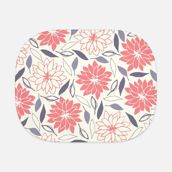 Pink Flowers Car Sun Shade Summer Accessory by WinterParkDryGoods