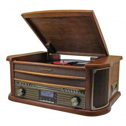 Soundmaster NR545 nostalgisch muziek center bruin  Soundmaster NR545 nostalgisch muziek center bruin  Nostalgisch muziek center die werkelijk alles afspeelt en met een zeer warm geluid!De Soundmaster NR545 is de opvolger van de zeer succesvolle NR513DAB. De geluidskwaliteit van de NR545 is ten opzichte van de NR513DAB sterk verbeterd. Het bedieningspaneel is met zijn metalen afwerking een lust voor het oog. Tevens is de NR545 uitgerust met een hoofdtelefoonaansluiting. De mooi afgewerkte…