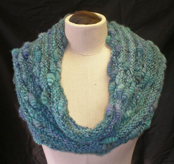 17 Best images about Knitting patterns for Handspun yarn on Pinterest Cowl ...