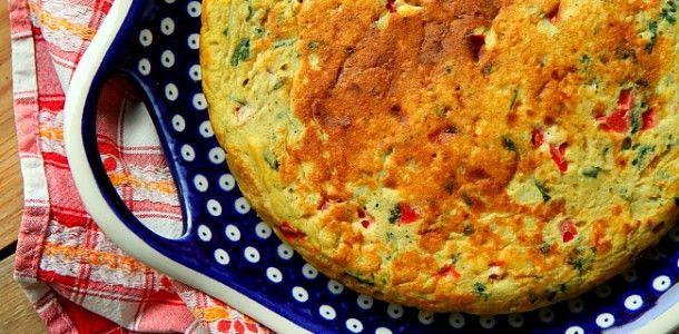 Omlet Ziemniaczany Po Katalońsku Hiszpański Omlet