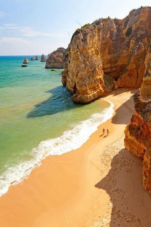 dona argos  beach, Lagos  Argave, Portugal