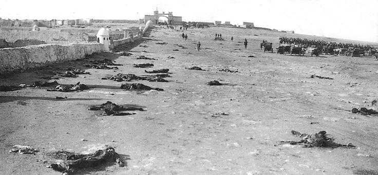 Octubre de 1921. Monte Arruit lleno de cadáveres españoles. Es la imagen del desastre