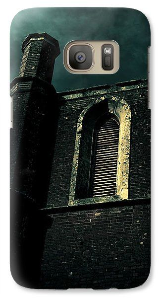 Scary Galaxy S7 Case featuring the photograph Dark Castle by Jorgo Photography - Wall Art Gallery