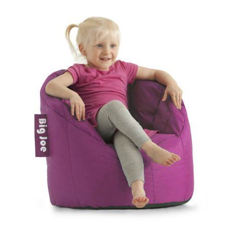 Surprising Big Joe Kids Lil Lumin Bean Bag Chair Radiant Orchid Pink Pabps2019 Chair Design Images Pabps2019Com