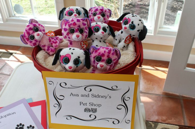 Puppy Dog & Kitty Cat Birthday Party ideas - ADOPT A PET