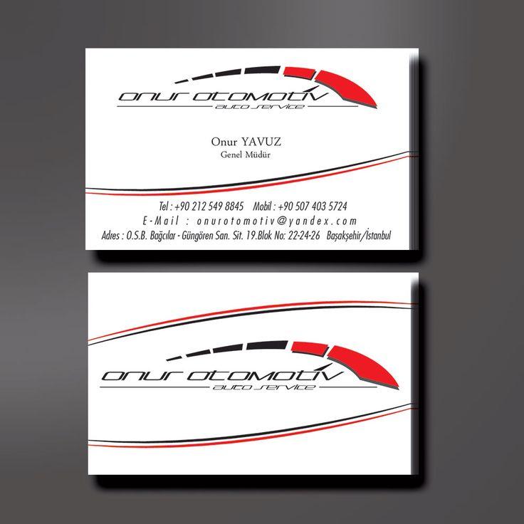 Onur Otomotiv - Logo tasarımı ve kurumsal kimlik çalışması.