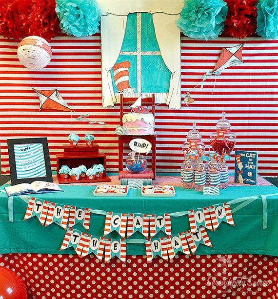 Dr Seuss School Party Play Party Ideas Dr Suess Dr