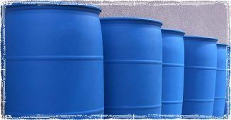Multiple 55 Gallon Water Barrels