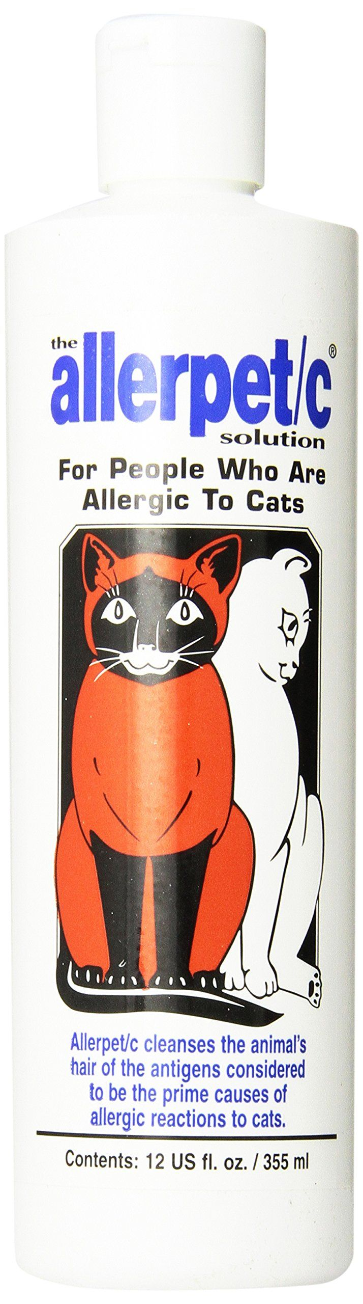 Allerpet C for Cats & People Allergic to Cats, 12 Ounces