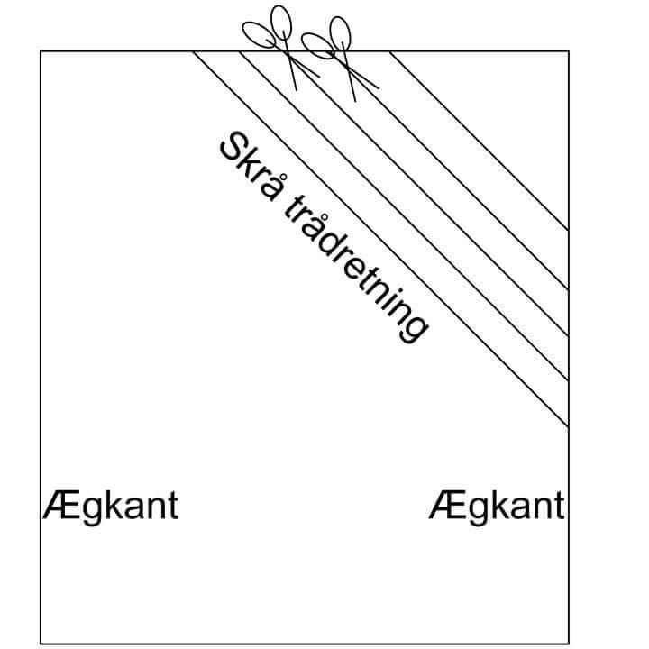Lav dit eget skråbånd - vejledning. Fra skaberlyst.dk