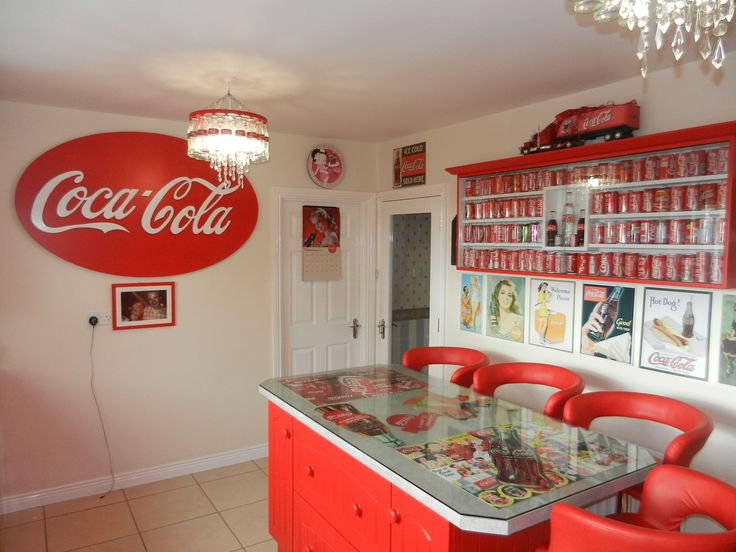You Wonu0027t Believe What This Coca Cola Loving Woman Did To Her Home!