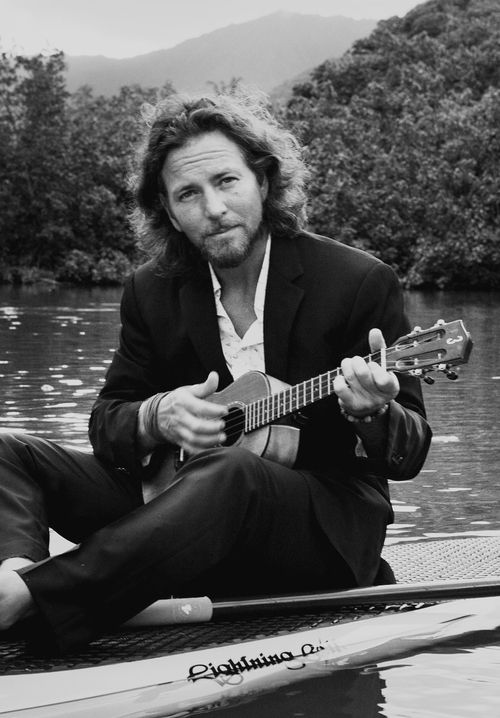 """And I picture a sober awakening, a re-entry into this little bar scene Sip my drink til the ice hits my lip Order another round And that's it for now Sorry Never been too good at happy endings."" --Eddie Vedder :)"