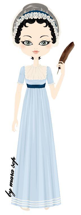 Jane Austen by marasop on DeviantArt