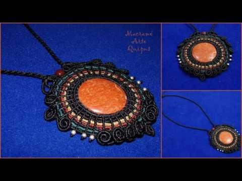 collares en macrame, esperen tutoriales muy pronto - YouTube