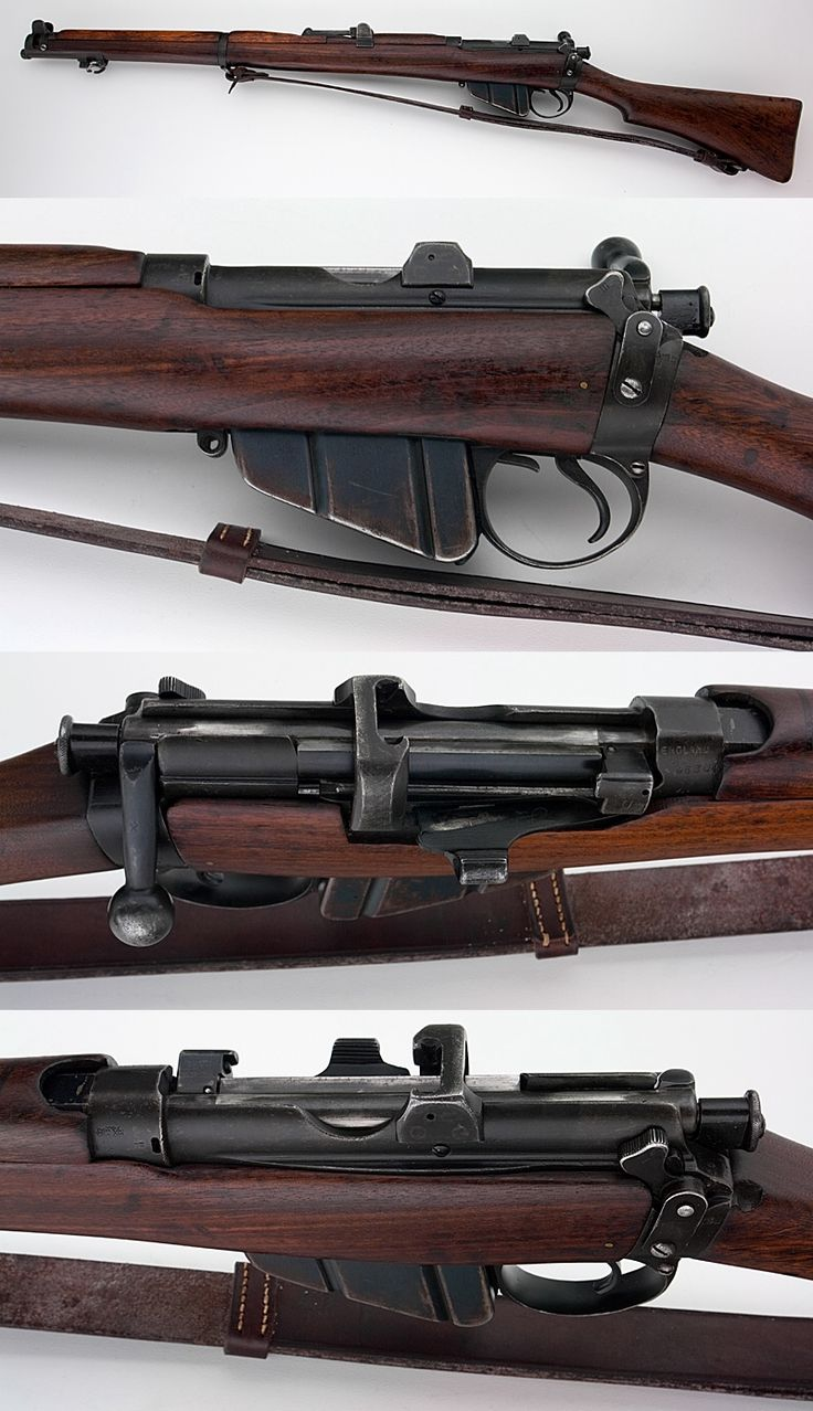 BRITISH LEE ENFIELD NO. 1 SMLE MK III .303 SHORT MAGAZINE RIFLE  Trained with these in the School Cadets, (14 yrs old).