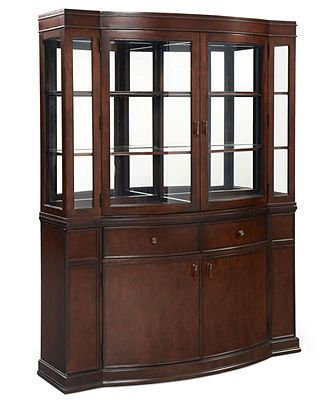 Martha Stewart China Cabinet, Larousse - Furniture - Macy ...